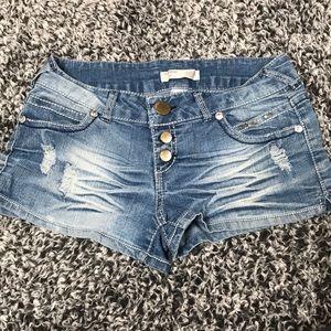 💕Jean shorts